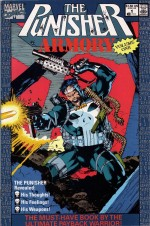 Marvel Comics The Punisher Armory 1 Cover Art by Jim Lee