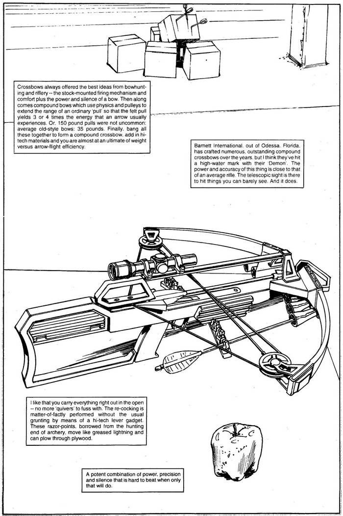 Crossbows - The Punisher Armory No. 2, June, 1991, Page 2