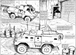 Armored Security Vehicles - The Punisher Armory No. 2, June, 1991, Page 10