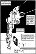 Laser Sight - The Punisher Armory No. 2, June, 1991, Page 14