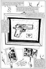 .45 Enforcer - The Punisher Armory No. 2, June, 1991, Page 20