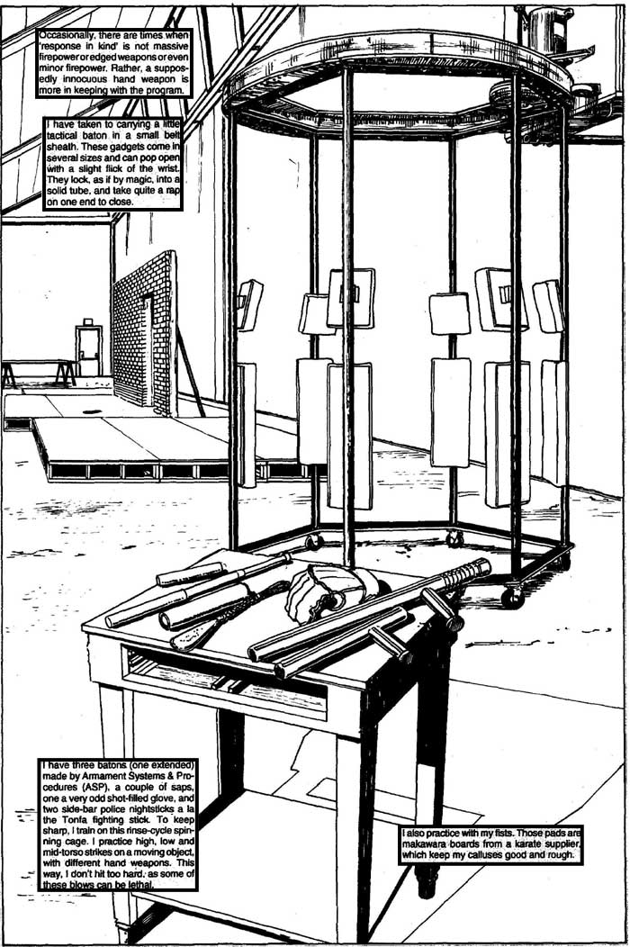 Tactical Baton - The Punisher Armory No. 2, June, 1991, Page 27