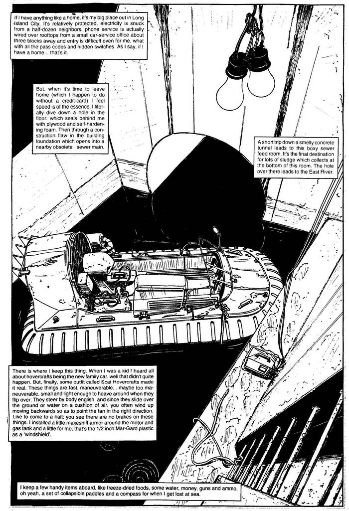 Scat Hovercraft - The Punisher Armory No. 2, June, 1991, Page 29