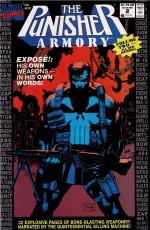 Cover by Jim Lee - The Punisher Armory No. 2, June, 1991