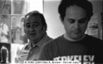 Danny Crespi (L)& Stu Schwarzberg 1979