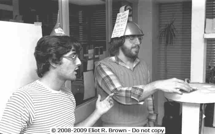 Ralph Machio and Ron Zalme 1979