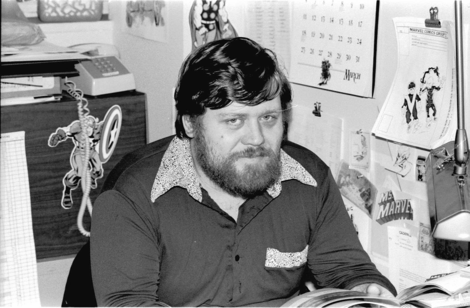 Dave Cockrum, penciler, inker. He was the on-staff art correction person. Truly one of the nicest guys in the business.