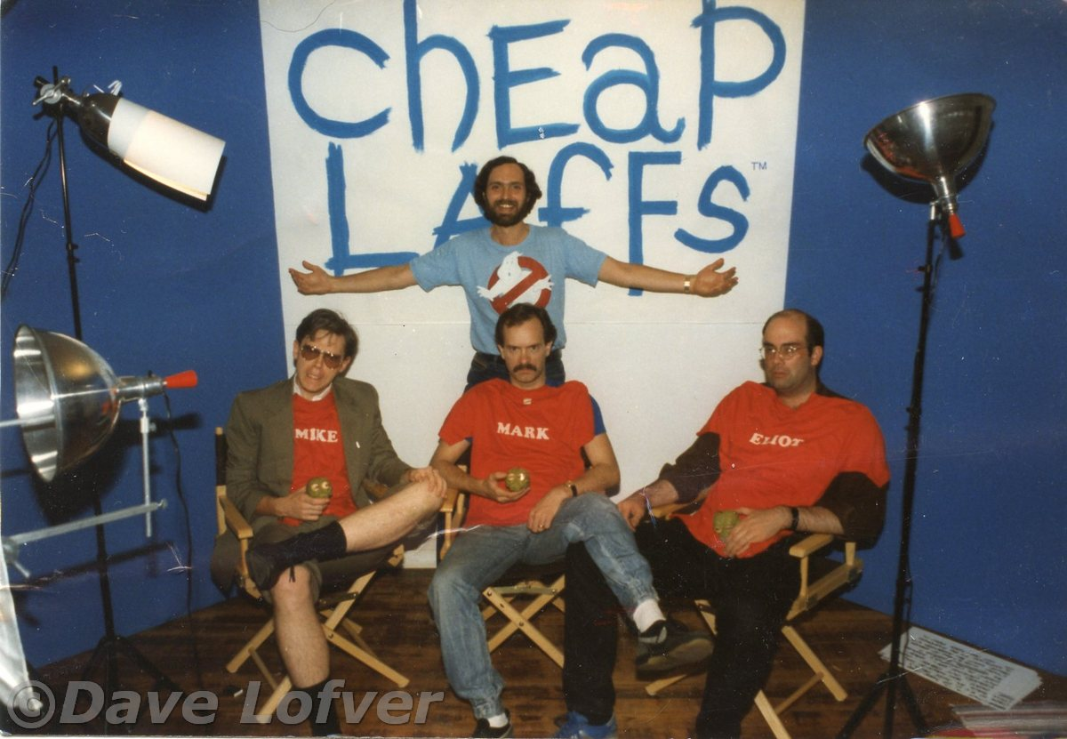 Dave visits Cheap Laffs Jun841