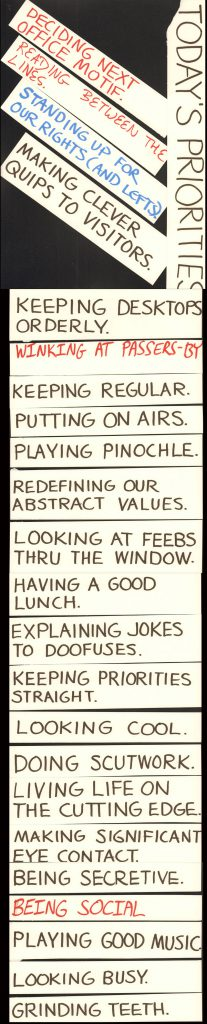 Window Wall Priorities